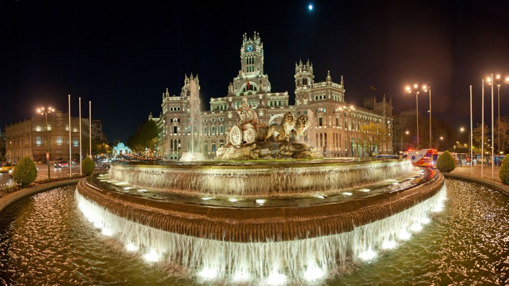 Madrid, Plaza de Cibeles